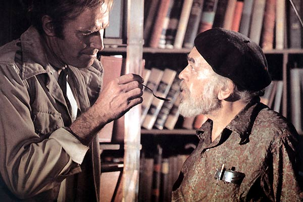 Cuando el destino nos alcance : Foto Charlton Heston, Edward G. Robinson, Richard Fleischer