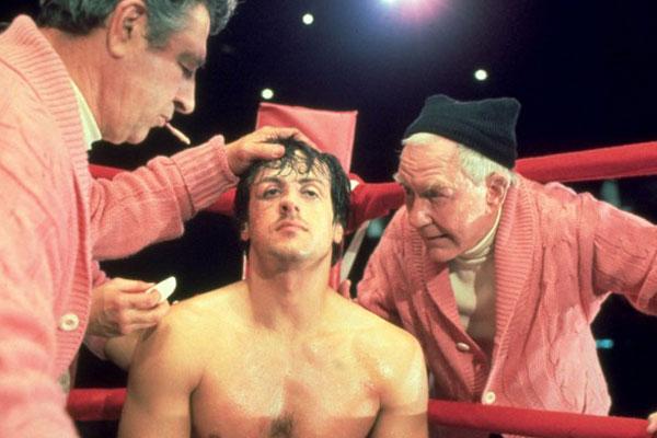 Rocky : Foto Burgess Meredith, John G. Avildsen, Sylvester Stallone