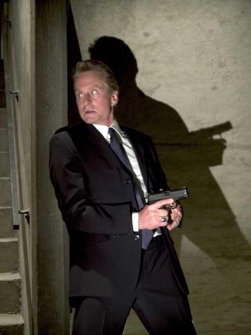 La sombra de la sospecha : Foto Clark Johnson, Michael Douglas