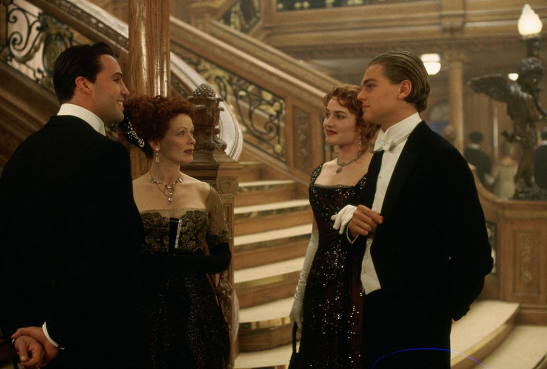 Titanic : Foto Billy Zane, Frances Fisher, Kate Winslet, Leonardo DiCaprio
