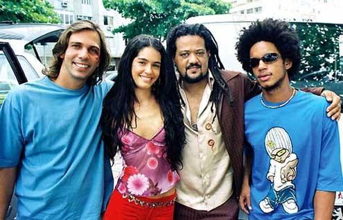 Foto Alice de Andrade, Jonathan Haagensen, Márcio Libar, Maria Flor