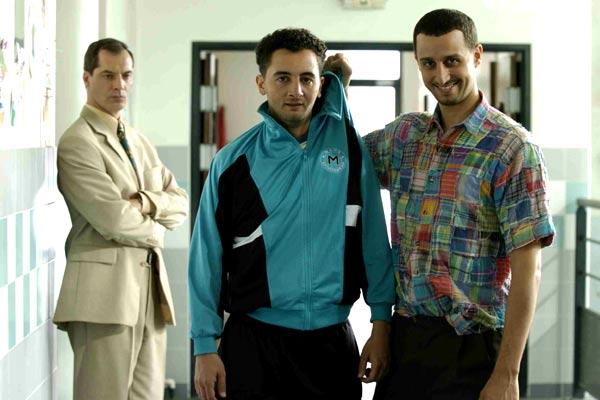 Foto Arié Elmaleh, Eric Rochant, Nader Boussandel, Samuel Labarthe