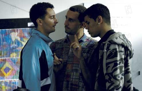 Foto Arié Elmaleh, Eric Rochant, Nader Boussandel, Reda Oudra
