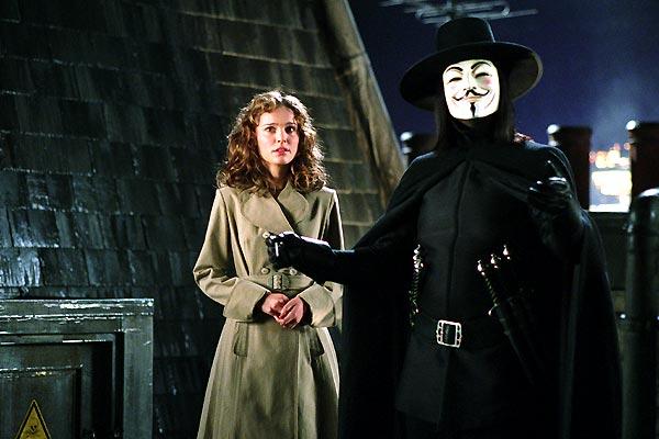 V de Vendetta : Foto Hugo Weaving, Natalie Portman