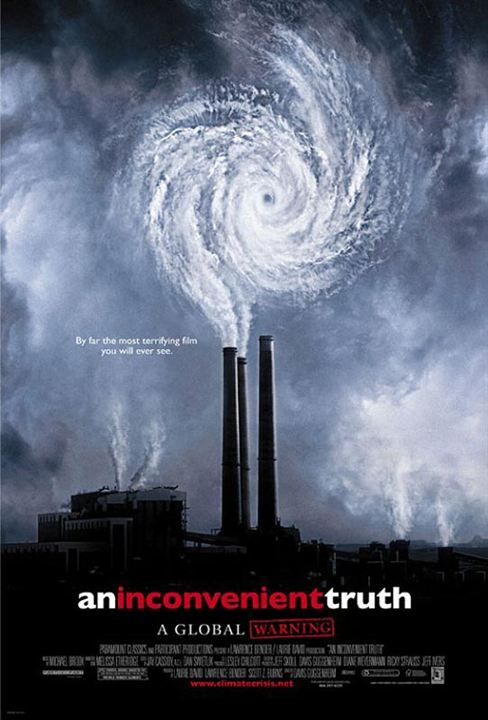 Una verdad incómoda : Cartel Davis Guggenheim