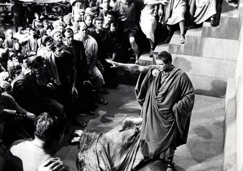 Julio César : Foto Joseph L. Mankiewicz, Marlon Brando