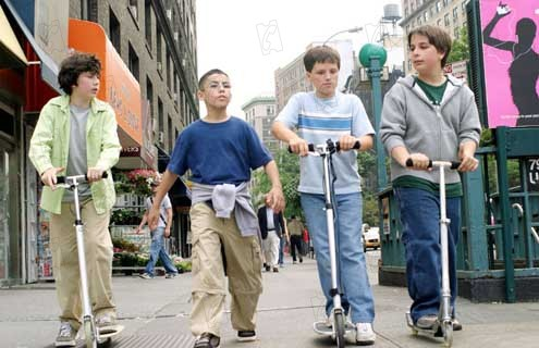 Pequeño Manhattan : Foto Josh Hutcherson, Mark Levin