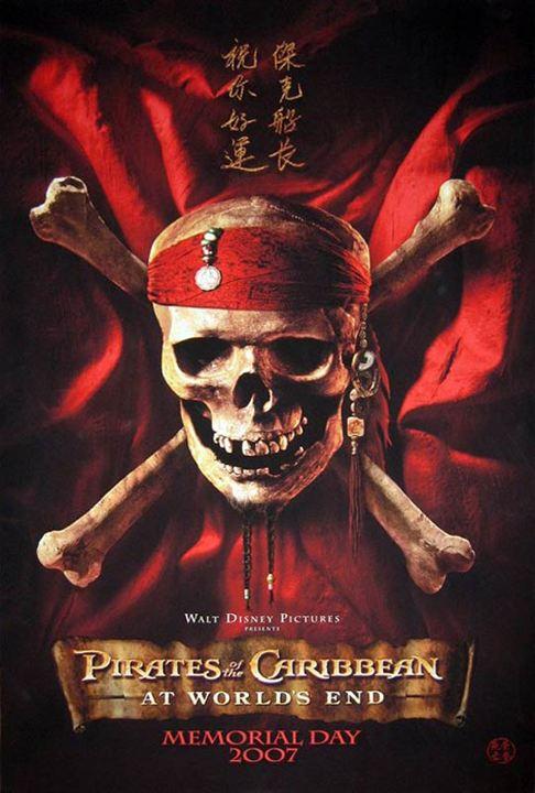 Piratas del Caribe: En el fin del mundo : Cartel Keira Knightley