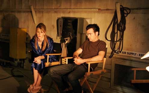 Inland Empire : foto David Lynch, Justin Theroux, Laura Dern