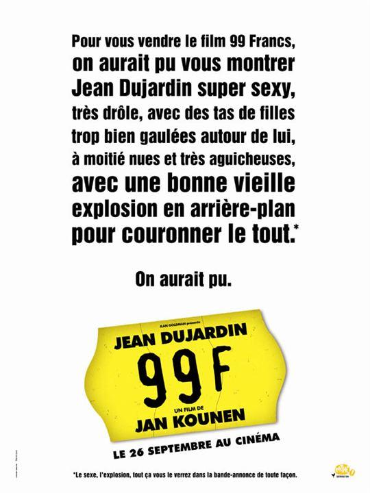 99 francs : Cartel Frédéric Beigbeder
