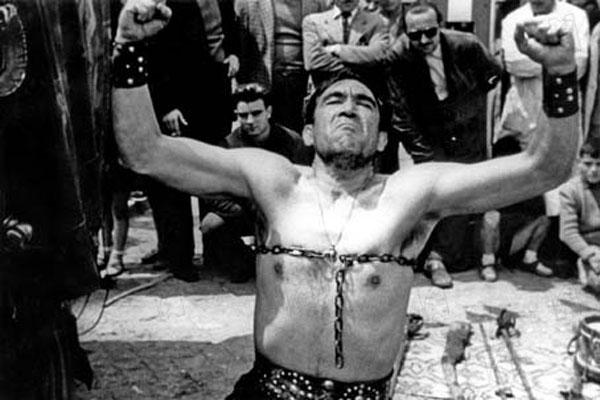 La Strada : Foto Anthony Quinn
