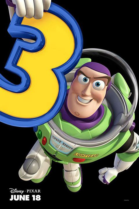 Toy Story 3 : Cartel Lee Unkrich