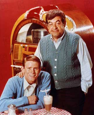 Happy Days : Foto Ron Howard, Tom Bosley