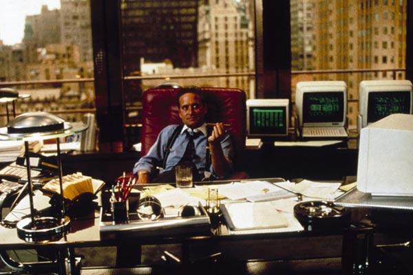 Wall Street : Foto Michael Douglas, Oliver Stone