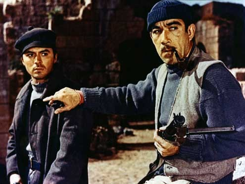 Los cañones de Navarone : Foto Anthony Quinn, Jack Lee Thompson, James Darren