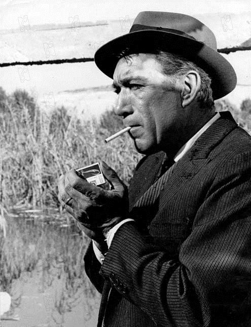 Foto Anthony Quinn, Bernhard Wicki