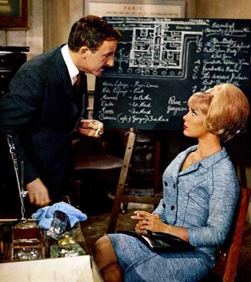 El nuevo caso del inspector Clouseau : Foto Blake Edwards, Elke Sommer, Peter Sellers