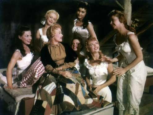 Siete novias para siete hermanos : Foto Jane Powell, Julie Newmar, Nancy Kilgas, Ruta Lee, Stanley Donen