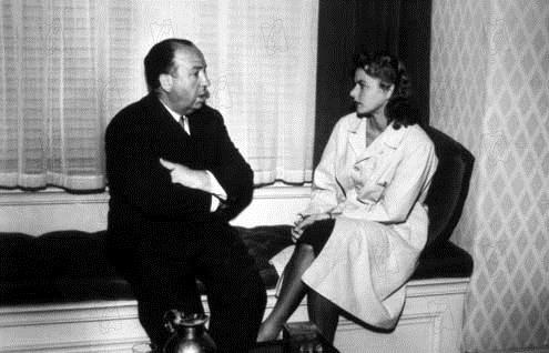 Recuerda : Foto Alfred Hitchcock, Ingrid Bergman