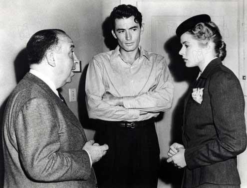 Recuerda : Foto Alfred Hitchcock, Gregory Peck, Ingrid Bergman