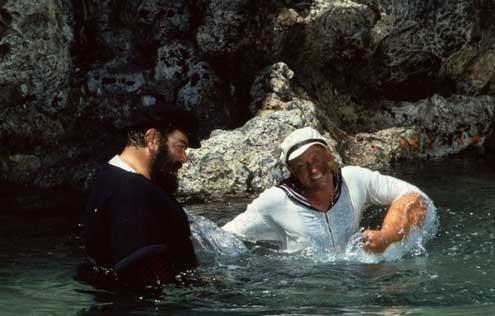 Popeye : Foto Paul L. Smith, Robert Altman, Robin Williams