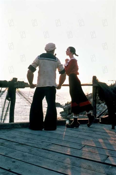 Popeye : Foto Robert Altman, Robin Williams, Shelley Duvall