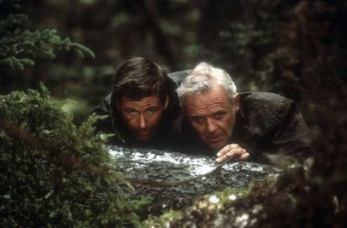 El desafío : foto Alec Baldwin, Anthony Hopkins, Lee Tamahori