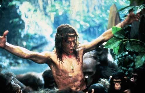Greystoke, la leyenda de Tarzán, el rey de los monos : Foto Christophe Lambert, Hugh Hudson, Ian Holm