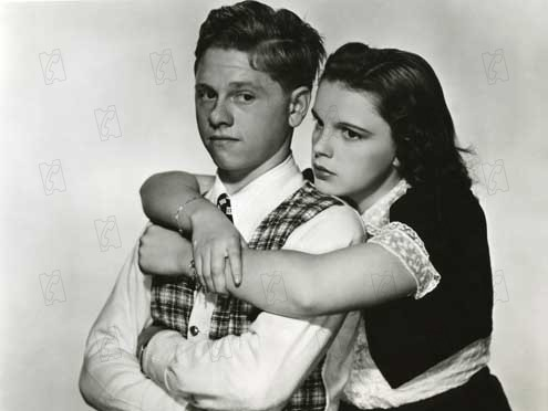 Andrés Harvey se enamora : Foto George B. Seitz, Judy Garland, Mickey Rooney