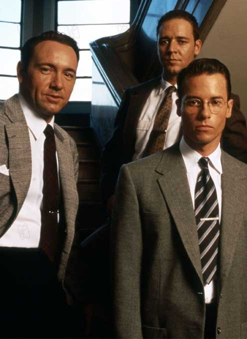 L.A. Confidential : Foto Guy Pearce, Kevin Spacey, Russell Crowe