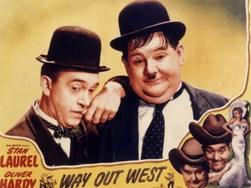 Foto James W. Horne, Oliver Hardy, Stan Laurel