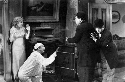 Foto James W. Horne, Oliver Hardy, Stan Laurel