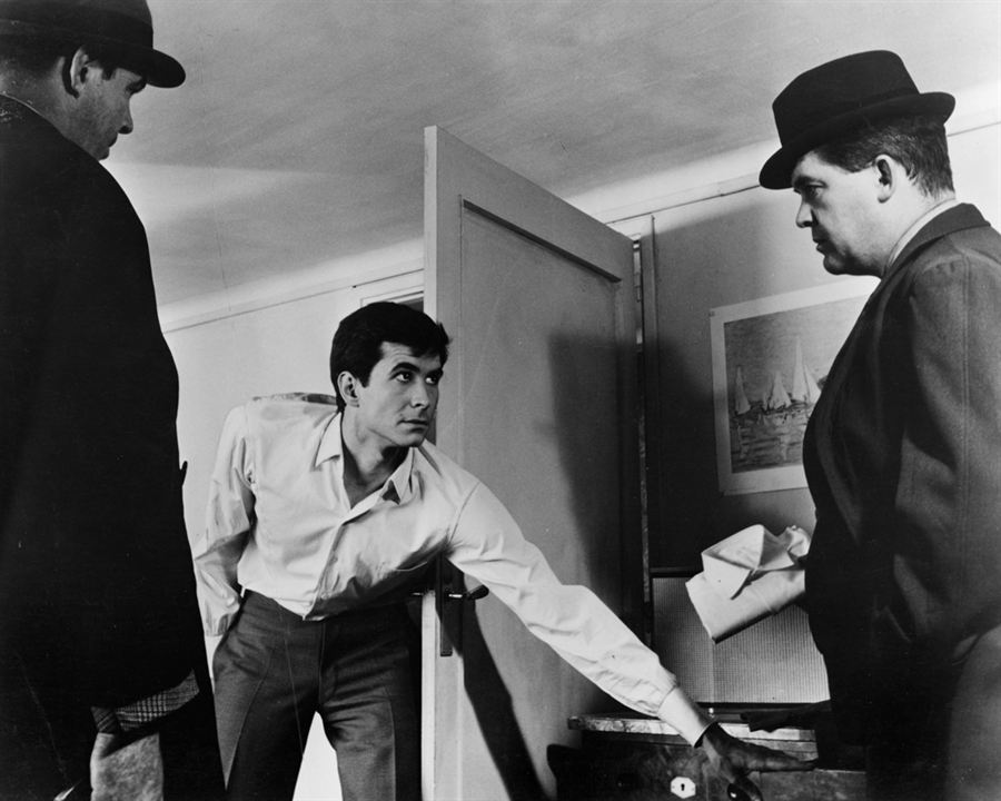 EL proceso : Foto Anthony Perkins, Orson Welles