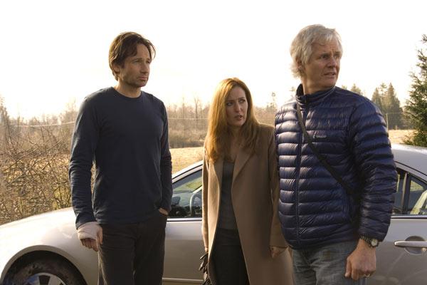 X-Files: Creer es la clave : Foto Chris Carter, David Duchovny, Gillian Anderson