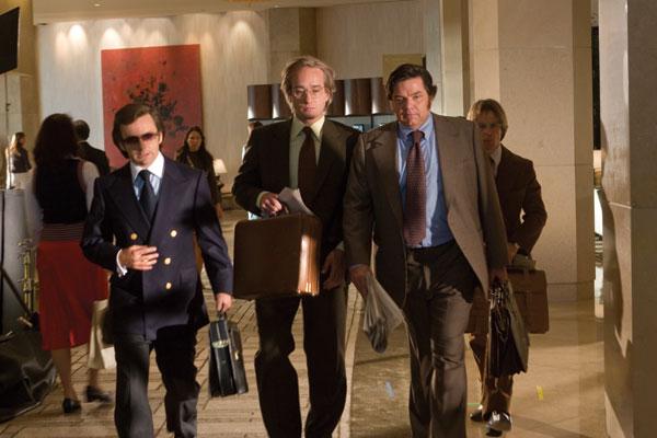 El desafío: Frost contra Nixon : Foto Matthew MacFadyen, Michael Sheen, Oliver Platt, Ron Howard, Sam Rockwell