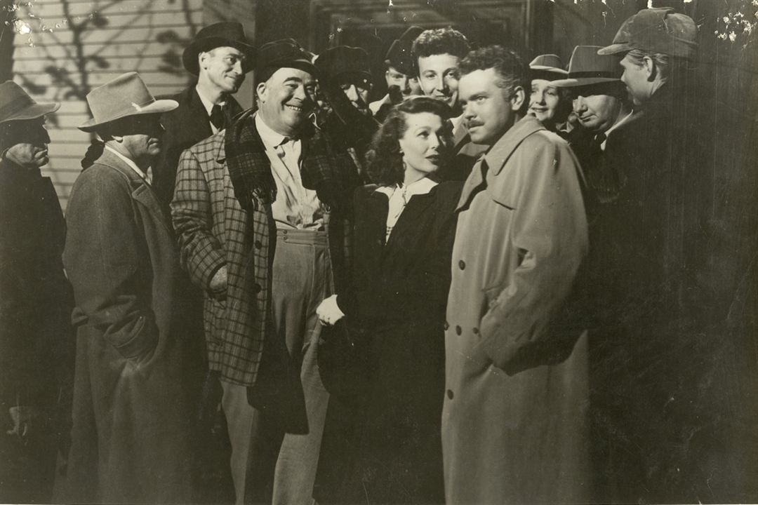 El extraño : Foto Loretta Young, Orson Welles