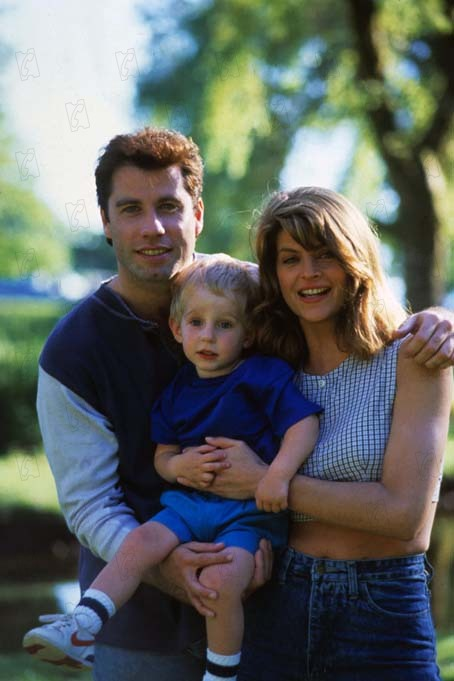 Mira quien habla : foto Amy Heckerling, John Travolta, Kirstie Alley