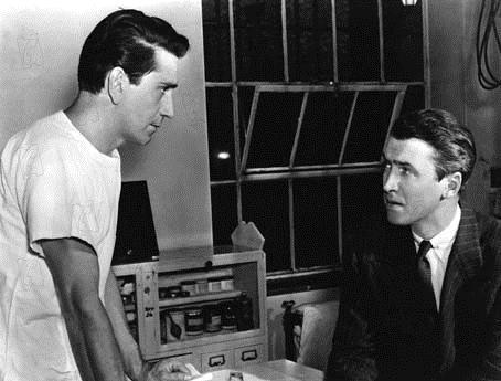 Yo creo en ti : Foto Henry Hathaway, James Stewart, Richard Conte