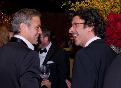 Foto George Clooney, Joel Coen