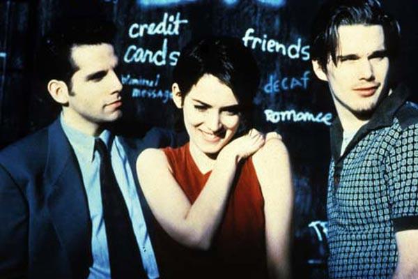 Reality Bites (Bocados de realidad) : Foto Ben Stiller, Ethan Hawke, Winona Ryder