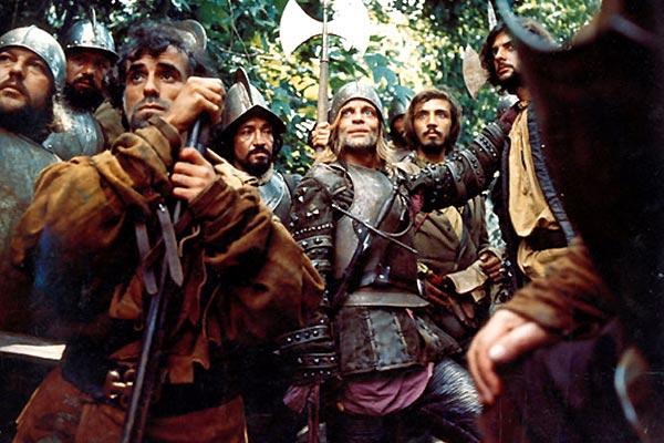 Aguirre, la cólera de Dios : Foto Klaus Kinski, Werner Herzog