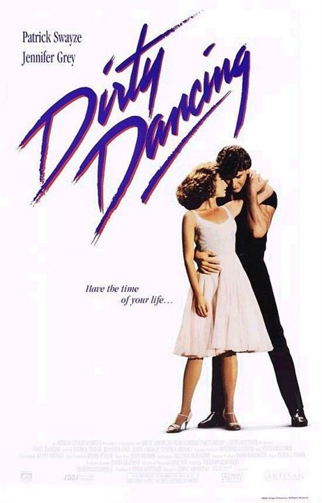 cartel de la pelicula dirty dancing