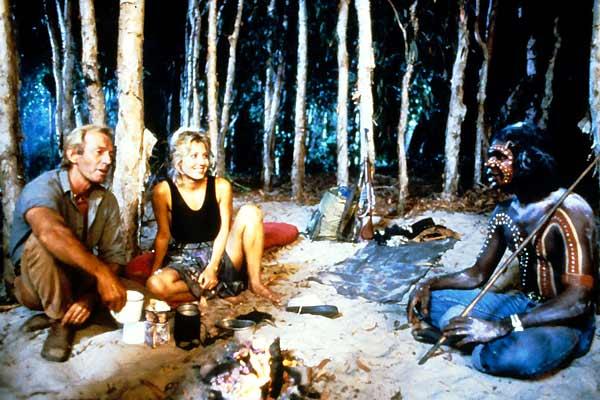 Cocodrilo Dundee : Foto Linda Kozlowski, Paul Hogan, Peter Faiman