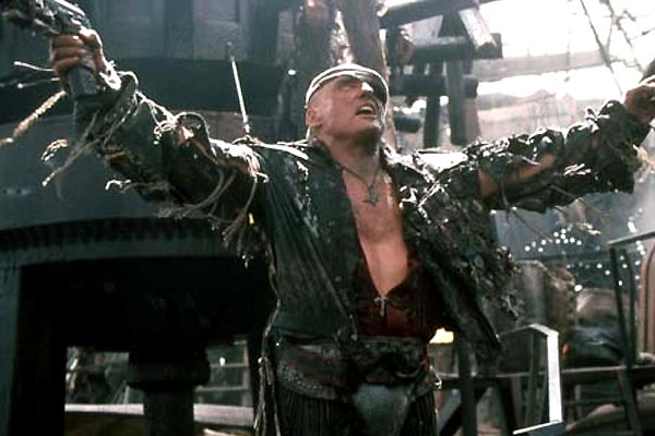 Waterworld : Foto Dennis Hopper, Kevin Reynolds
