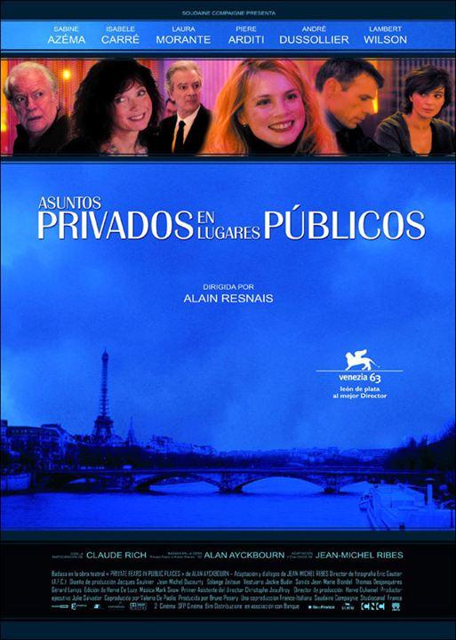 Asuntos privados en lugares públicos : Cartel