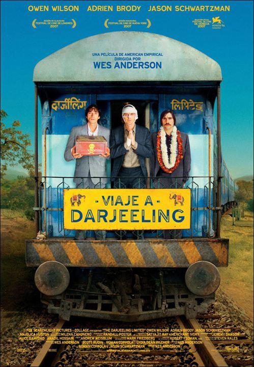 Viaje a Darjeeling : cartel