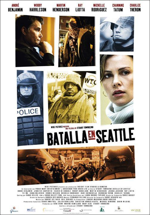 Batalla en Seattle : cartel