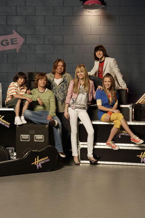 Hannah Montana : Foto Billy Ray Cyrus, Emily Osment, Jason Earles, Miley Cyrus, Mitchel Musso