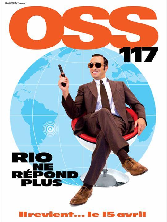 OSS 117: Perdido en Río : Cartel Jean Dujardin
