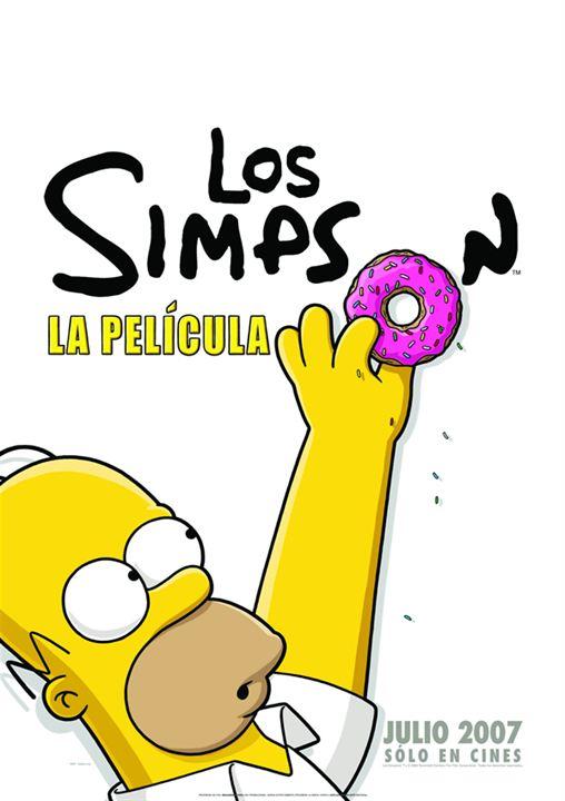 Los Simpson: La película : Cartel